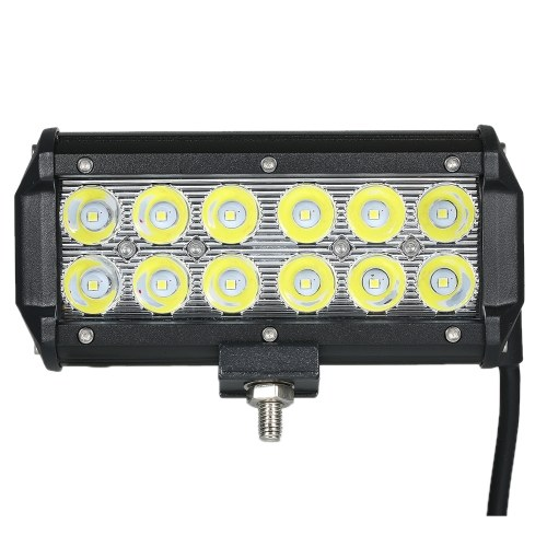 1шт 36W Автомобиль свет работы бар 6000K освещения (Spot Beam)