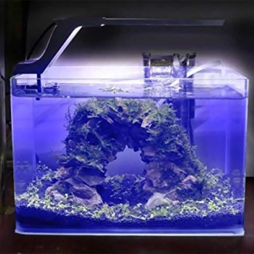 AC100-240V 8W 21 LEDs Aquarium Clip Lamp