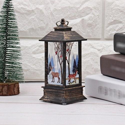 Christmas LED Night Light Desk Lamp Elk Design Light