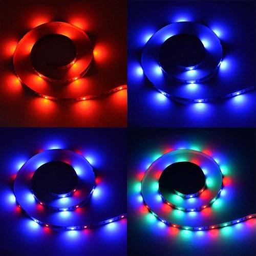 DC5V 0.3W 0.5M 30 LEDs RGB Streifen Licht mit Fernbedienung