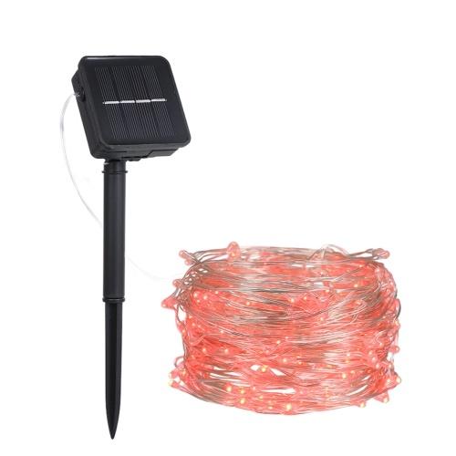 Energia zasilana energią słoneczną Drut miedziany Fairy String Light
