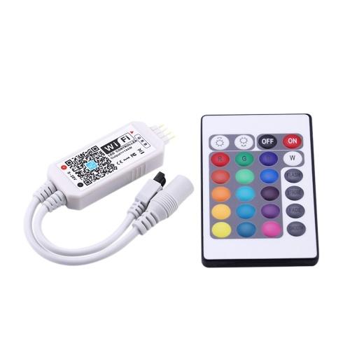 DC5-28V 192W(Max.) Mini RGBW WIFI Intelligent Controller with Remote Control