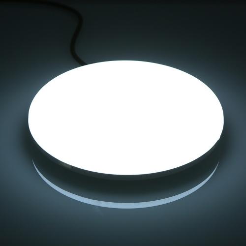 AC85-265V 24W 130 LEDs 2160LM Round Circular UFO Lamp