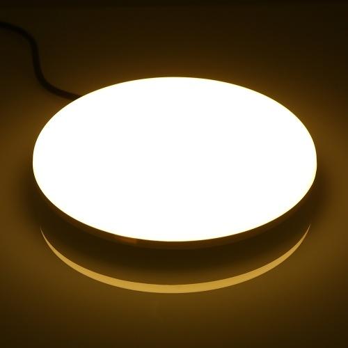 AC85-265V 18W 96 LEDs 1620LM Lámpara circular redonda para UFO
