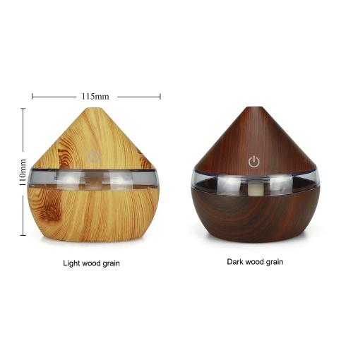 DC5V 2W 300ml USB Cool Mist umidificatore Diffusore di olio essenziale 7 luce cambia colore per ufficio casa camera da letto soggiorno studio yoga spa