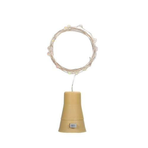 3V 6W 1m 10LED Weinflaschenleuchten mit Cork Starry Fairy Light IP65 Wasserbeständigkeit