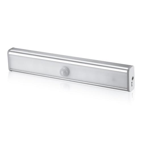 Diodo emissor de luz da escada PIR Motion Sensor Lamp 10 LEDs Night Light