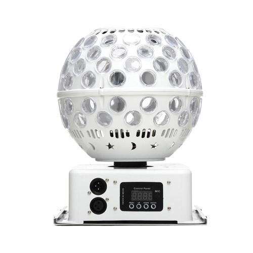 AC110-240V 40W 360 gradi girevole LED lanterna luce effetto palcoscenico palla magica illuminazione (RGBW senza RC)