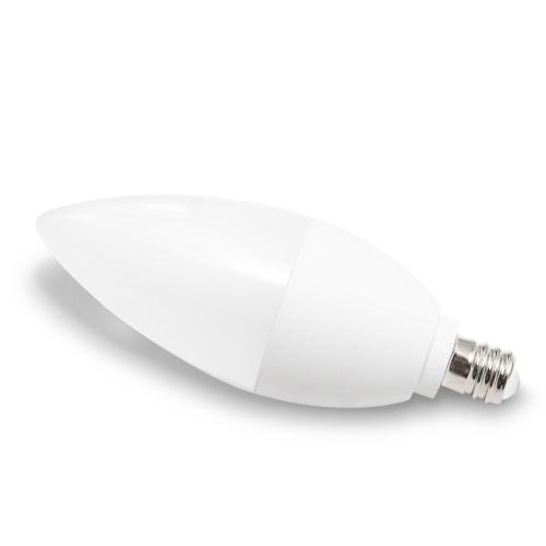 GLEDOPTO AC100-240V E12 4W RGB + branco e quente branco lâmpada inteligente lâmpada de vela Zigbee