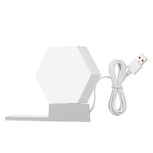 Lámpara de empalme del kit de luz LED Smarts DC5V 5W (luz principal con USB y base)