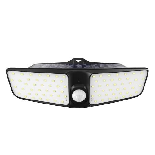 80 светодиодов Солнечный настенный светильник PIR Motion Sensor & Lighting Sensor