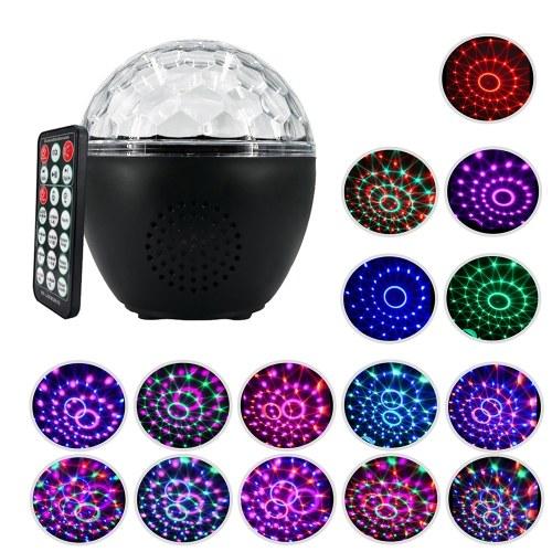 10W USB recargable bola de discoteca luz estroboscópica