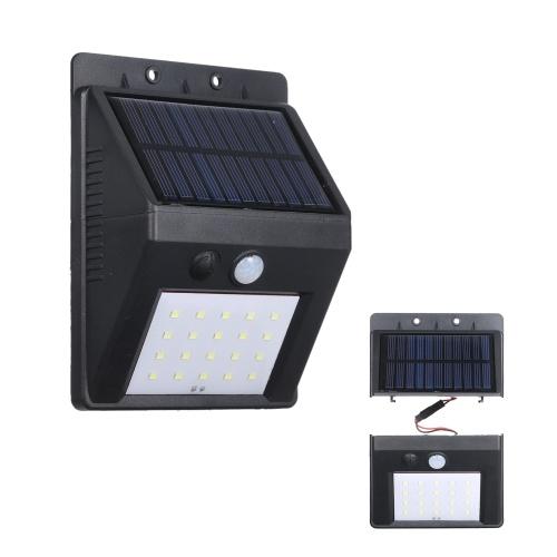 20 LEDs Solarbetriebenes Split-Licht S