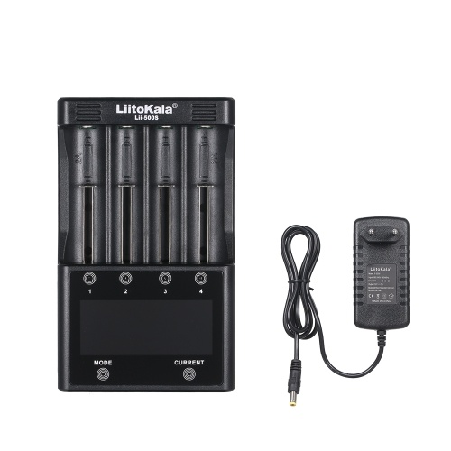 LiitoKala Lii-500S Kit de charge de batterie portable