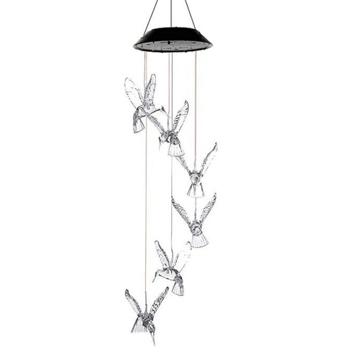 Solar Energy Powered Windspiel Lampe