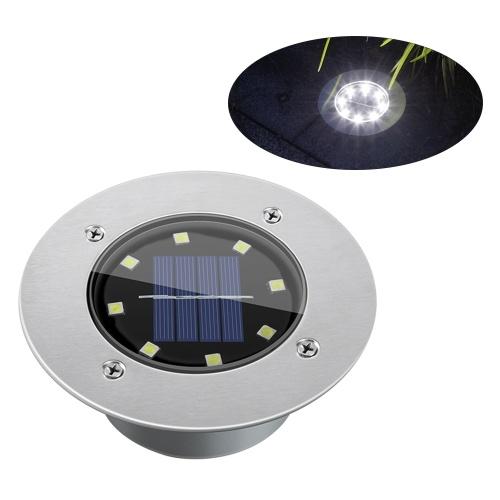 Lámpara enterrada solar 8LEDs