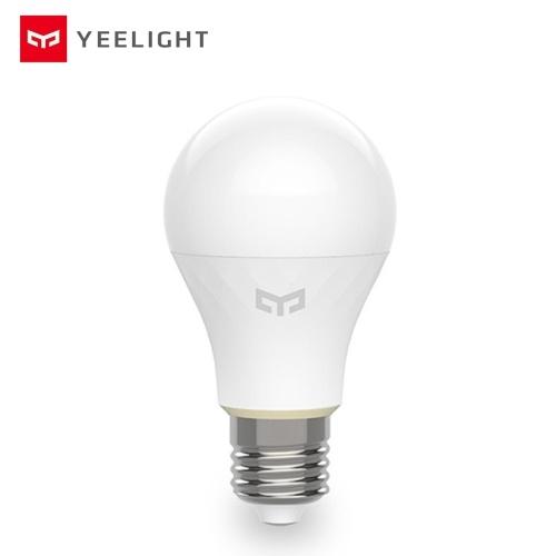 Yeelight YLDP10YL AC 220V E27 6W Lámpara de bola inteligente Bombilla blanca (producto del ecosistema Xiaomi)