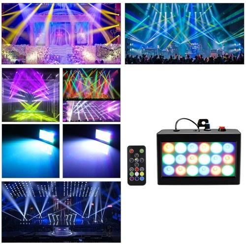 AC90-240V 20W RGB Stage Light Lamp Lighting Fixture