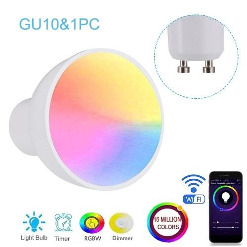 Bombilla inteligente WiFi GU10 / E27 / GU5.3