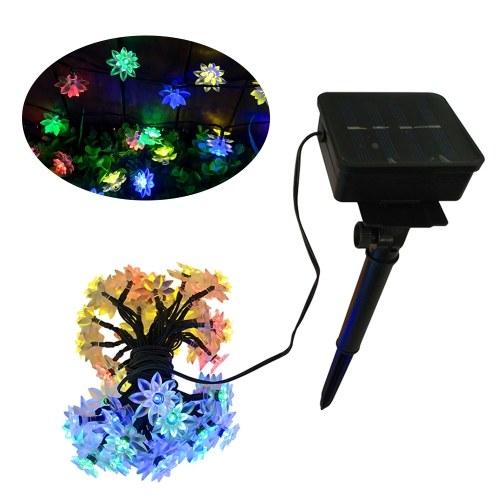 LED String Lights Control de luz sensible a la energía con energía solar