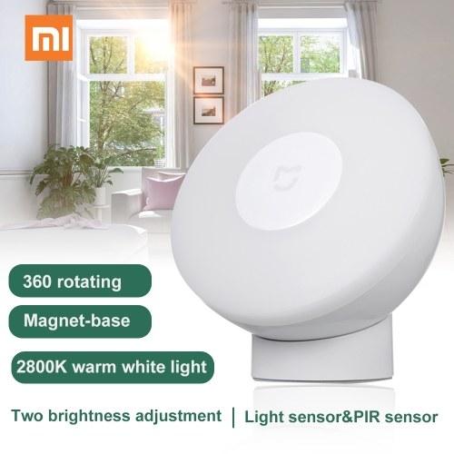Xiaomi LEDs LEDs Induction Night Light 360 Degree Intelligent Human Body Sensor Adjustable Brightness фото