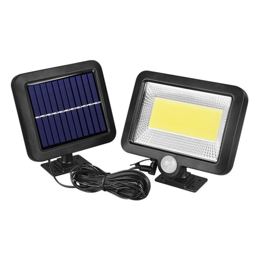 100COB Solar Energy Wall Mounted Night Lamp Motion Light Sensor Outdoor Waterproof Garden Security Light