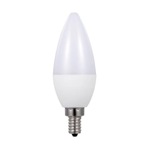 AC 85-265 V 3 W L-ED RGB + Bombilla blanca cálida con control remoto