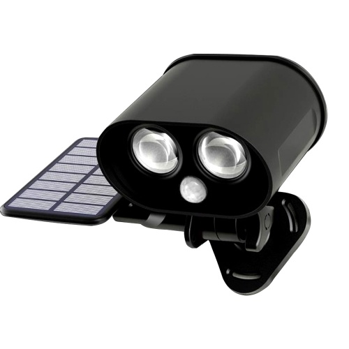 Solarenergie Eule Flutlicht PIR Sensoring Bewegung und Licht erkannt