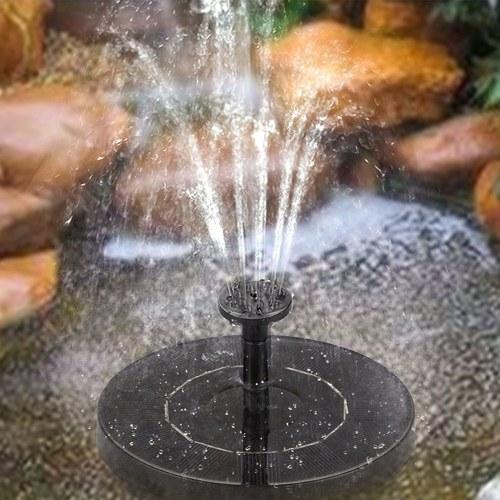 1.0W太陽水ポンプの噴水の庭の景色の小さい噴水