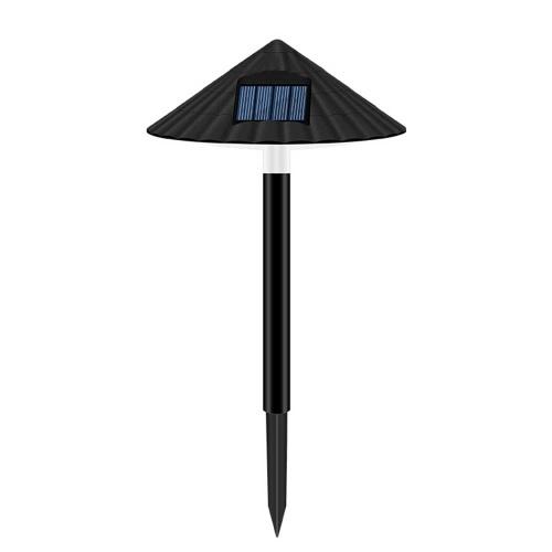 Lámpara de sombra de sombrilla de césped solar Luz de enchufe de sombra de seta IP55