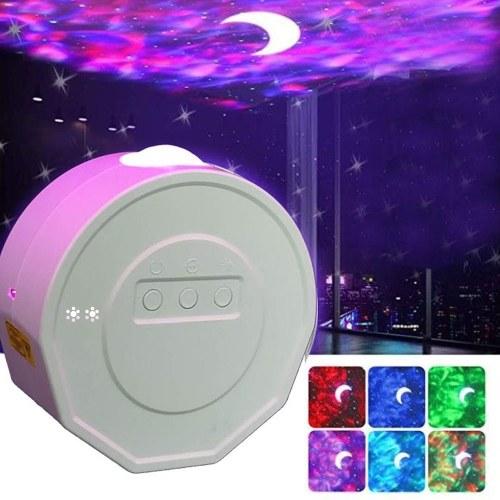 Starry Sky Proyector Luz Lámpara de noche Lámpara de proyección para dormitorio Sala de estar Decoración de fiesta en casa