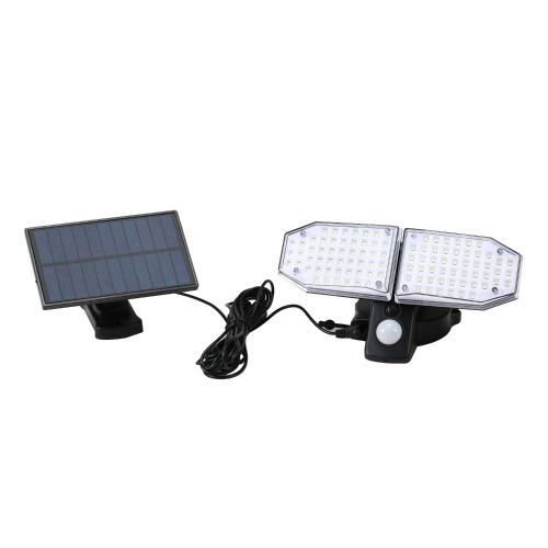 100 SMD LED IP65 Экологичный солнечный датчик света Прочный датчик света на открытом воздухе / в помещении