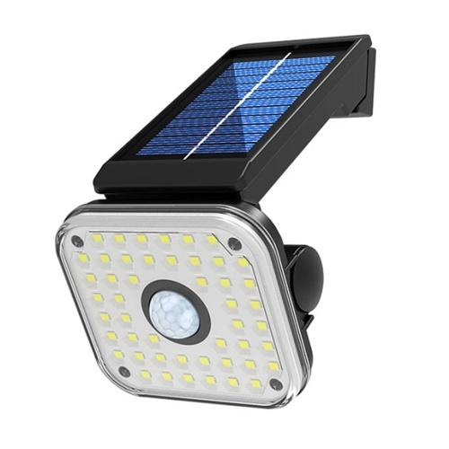 48 SMD LED Solarlampe Drehbare Straßenlampe mit menschlicher Induktion