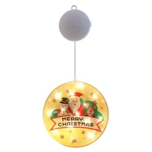 Led Sucker Luces decorativas Lámpara de Navidad Luces festivas de batería de Navidad