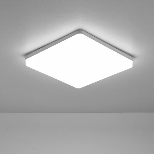 18W 6500-7000K LEDs Потолочный светильник для скрытого монтажа квадратный потолочный светильник для кухни, спальни, прихожей