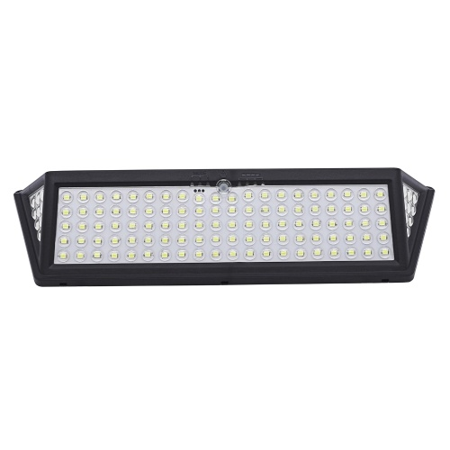 118 LEDs Wasserdichte IP65 Solarlampe Human Induction Wall Lamp 3 Beleuchtungsmodi