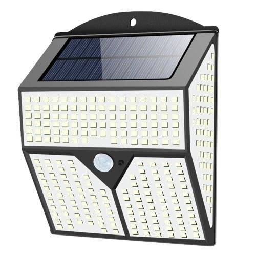 318 LEDs Solarlampe Außenansaugung Innenwand Wandleuchte Wasserdicht IP65 60㎡ Beleuchtungsbereich