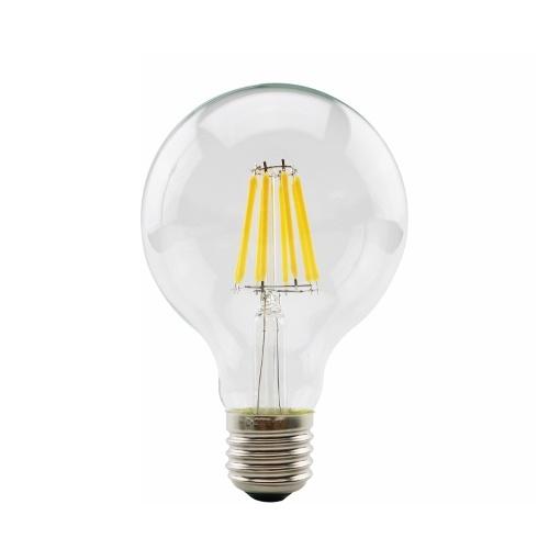 Ретро Энергосберегающая лампа накаливания Яркая лампочка Стеклянная лампа абажура Винтажная лампочка
