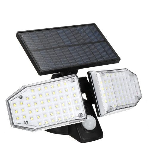 100 LEDs Solar Light PIR Motion S-ensor Outdoor Wall Lamp Sensitive Lighting Control