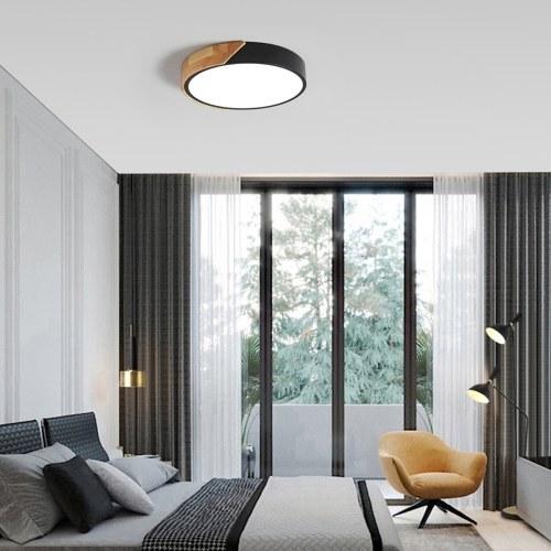 AC220-240V 24W LED runde runde Lampe Deckenleuchte für Gang Treppe Flur Balkon Wohnzimmer Schlafzimmer (weißes Licht)