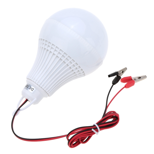 Портативный Энергосберегающий DC 12V 12W LED Лампа для дома туризма чрезвычайного случая белый
