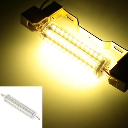 R7s 90 светодиоды 12W 135 мм 1100LM 2835 SMD AC85-265V лампы света кукурузный лампа прожектор не затемняемый 360 градусов освещения высокой яркости теплый белый