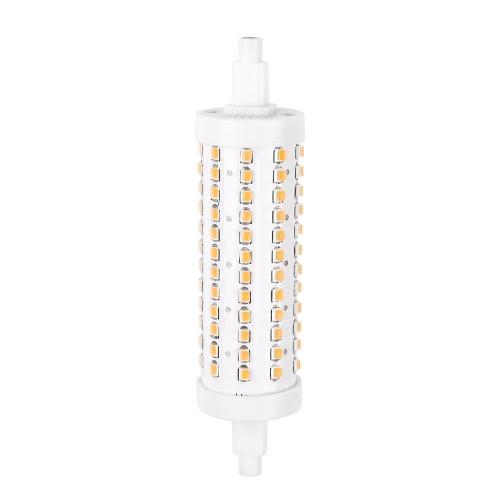 R7S 36 LEDs 7W 78mm 500-600LM 2835SMD AC85-265V Bulb Light Corn Lamp Floodlight Non-dimmable 360 degree Illumination High Brightness Warm White