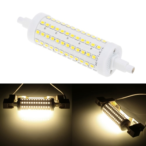 R7S 108 LEDs 14W 118mm 850-1100LM 2835SMD AC85-265V Bulb Light Corn Lamp Floodlight Dimmable 360 degree Illumination High Brightness Warm White