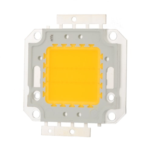 20W High Power LED Integrated Lamp Bead Taiwan Imported Chip 560-600mA 32-34V 1800-1900LM for Floodlight Street Mining Light