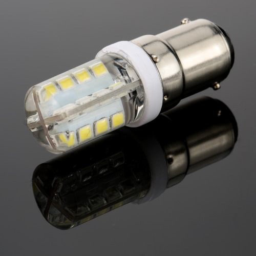 220V B15 Bayonet Base 2835 SMD LED Silica Gel Mini Corn Light Bulb for Pendant Chandelier Desk Table Decoration Lamp