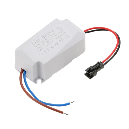 AC100-240V DC12-28V LED Driver Power Supply Adapter Transformer Switch for Spotlight Ceiling Down Lamp