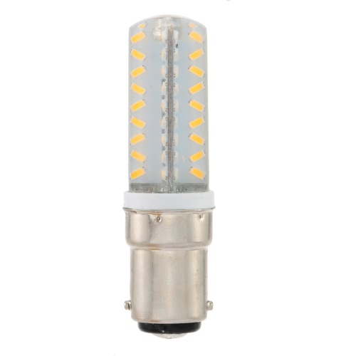220V B15 Bayonet Base 3014 SMD LED Silica Gel Mini Corn Light Bulb for Pendant Chandelier Desk Table Decoration Lamp