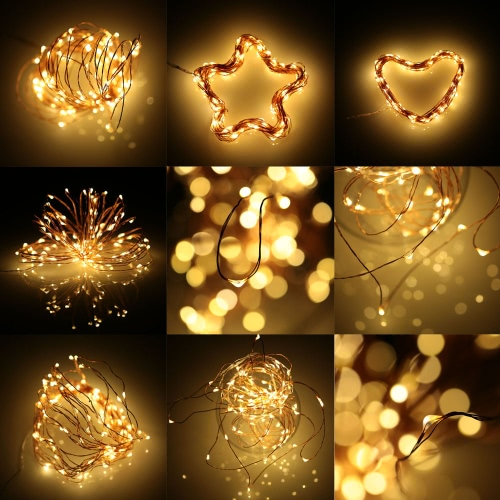 Tomshine 4pcs led starry string lights battery operated 2m66ft tomshine 4pcs led starry string lights battery operated 2m66ft 20leds waterproof fairy bottle lights copper wire warm white rope lights for christmas mozeypictures Choice Image