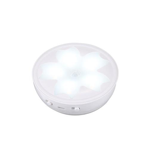 Sakura Design PIR Motion Sensor Smart Intelligent Induction LED Night Light Beside Lamp for Bedroom Washroom Aisle Staircase